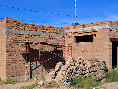 Adobe Home Being Restored