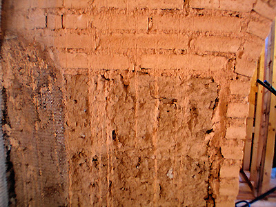 Adobe - Repaired Wall