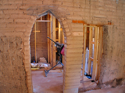 Adobe - Arched Doorway