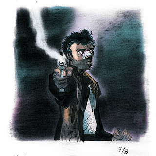 Ilustraciones de la serie 'Heroes' obra de Tim Sale