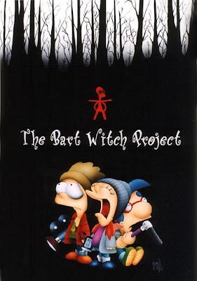 La bruja de Blair, Los Simpson