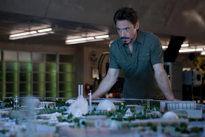 Robert Downey Jr. como Tony Stark en Iron Man