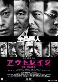 Poster de Outrage película que se proyectará en Festival 4+1 Fundación Mapfre