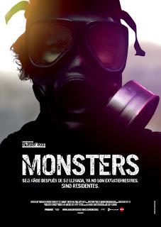 Póster de Monsters de Gareth Edwards