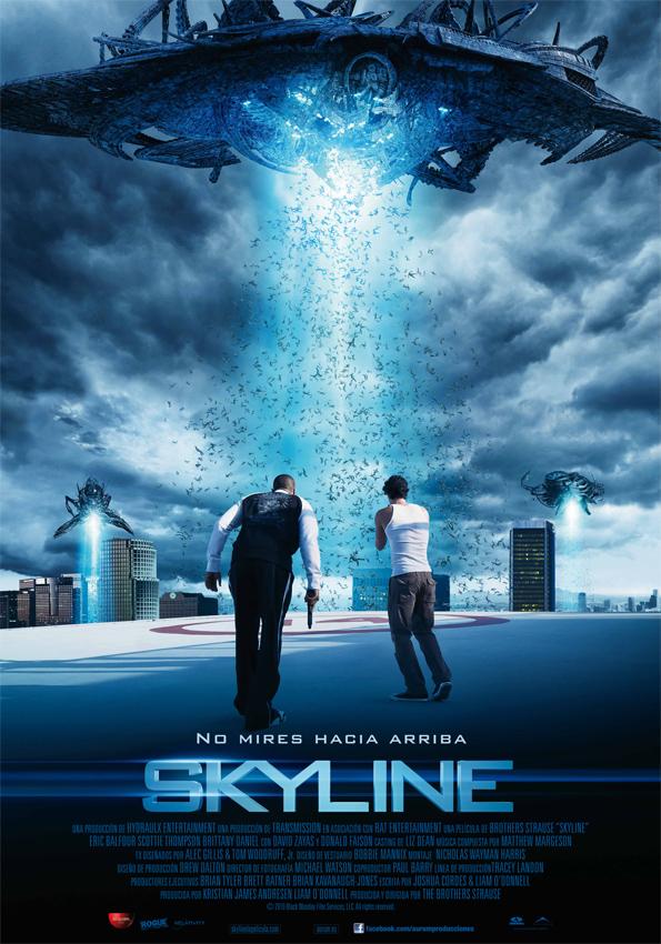 Poster de Skyline
