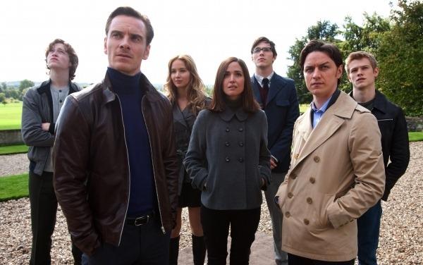 Imagen de grupo con los primeros X-Men