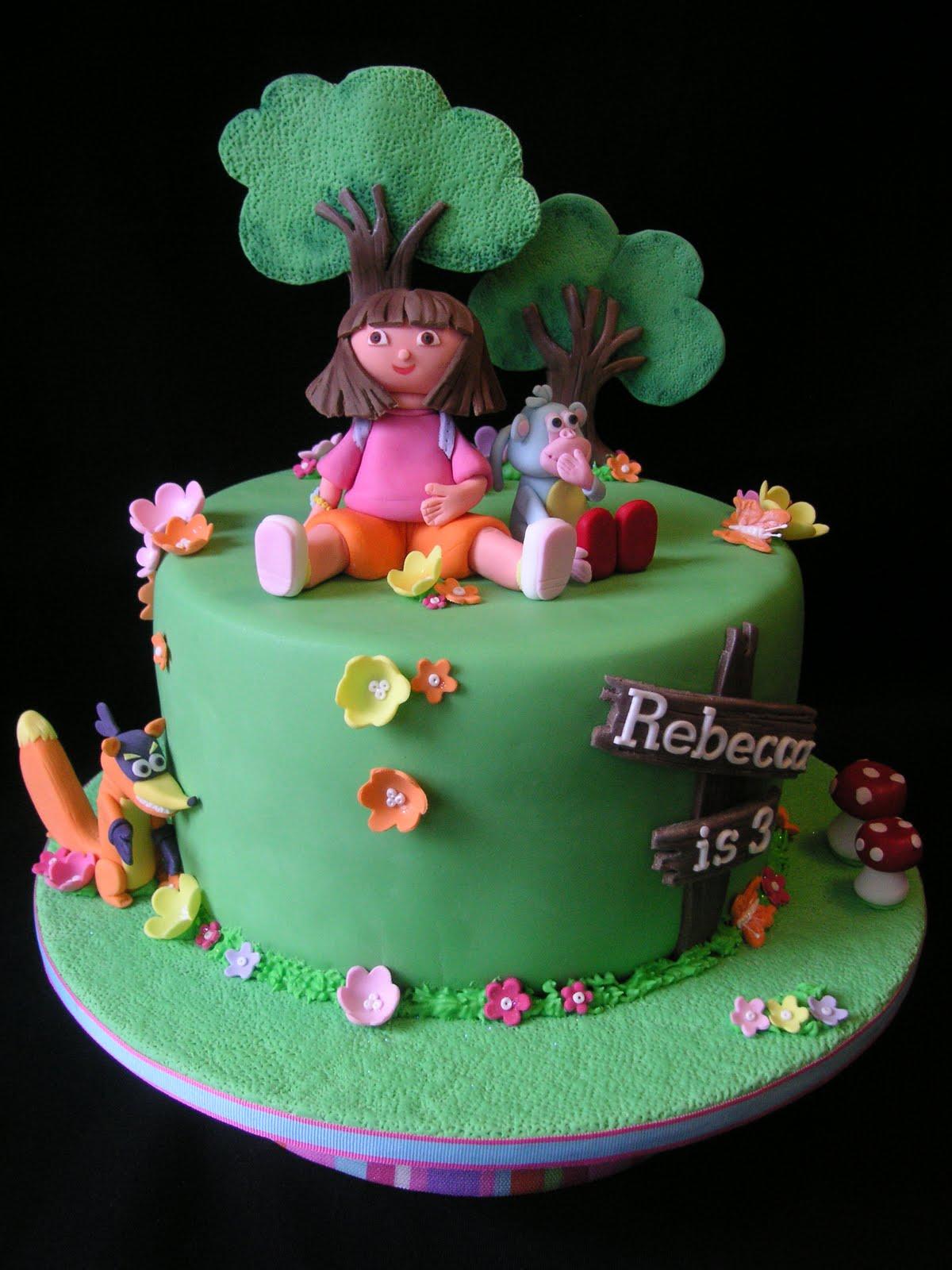 Coolest Cupcakes: Dora birthday cake