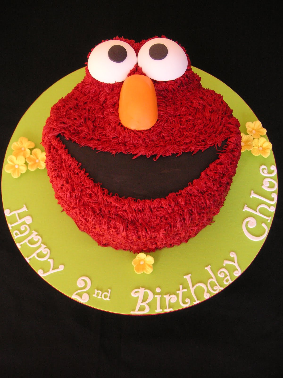 How To Make An Elmo Shaped Cake
