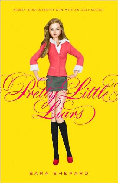 Pretty Book Cover Review : Book review pretty little liars by sara shepard jessica
