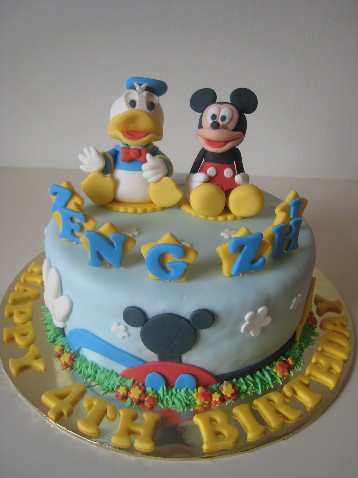 Just Celebrate Cakes Mickey Mouse And Donald Duck Cake