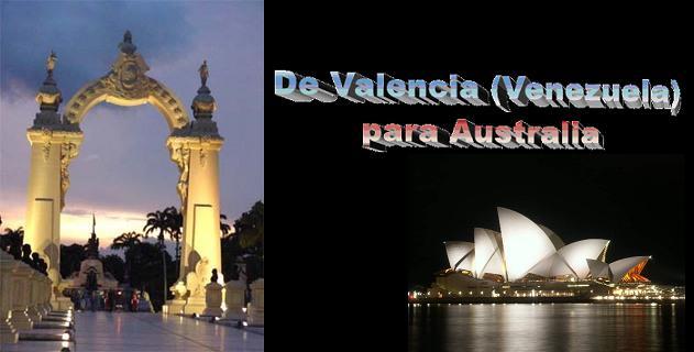 Un salto de vida: De Venezuela para Australia
