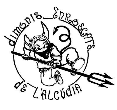 Logo del Dimonis Enroscats de l'Alcúdia
