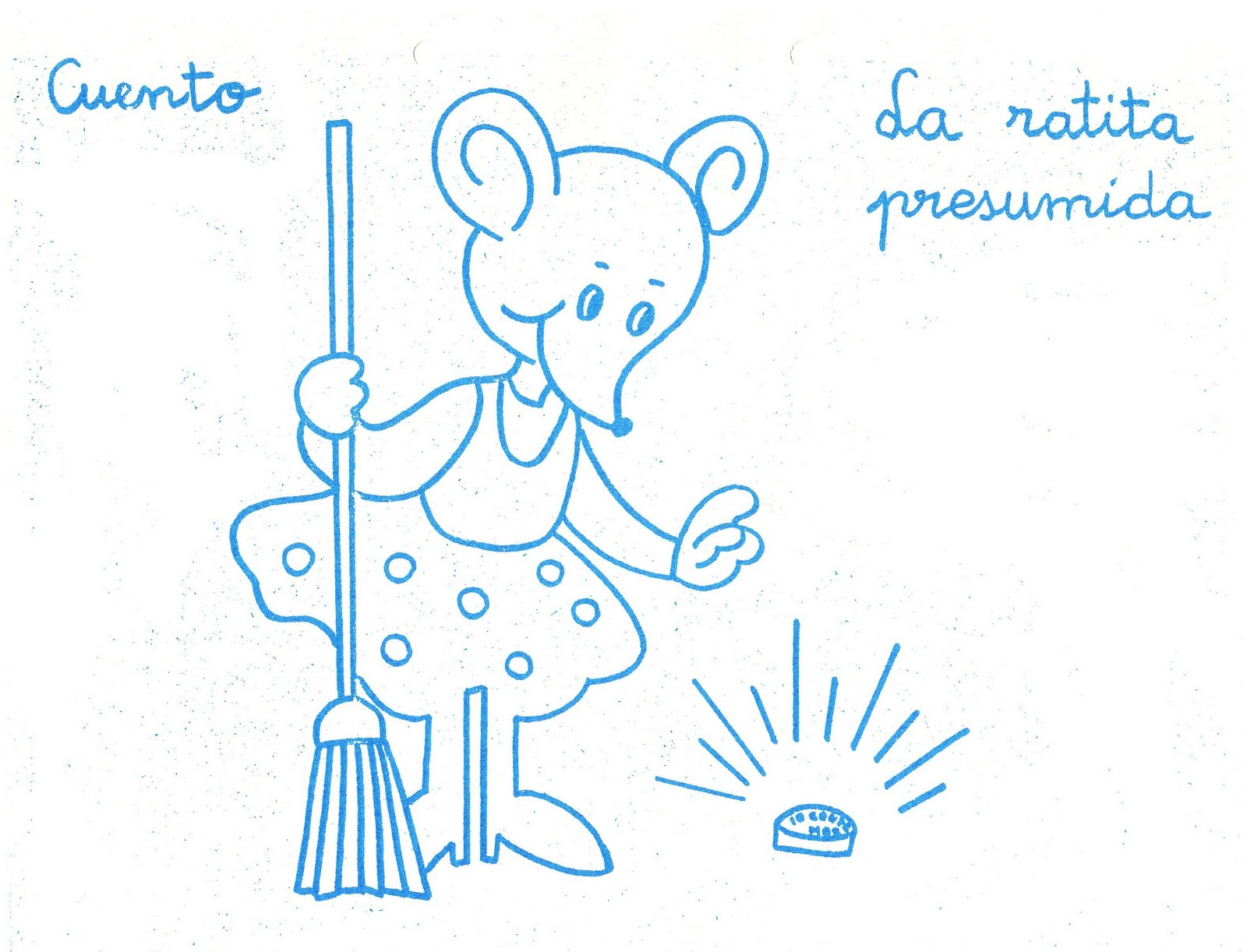 Cositas de pekes: La ratita presumida