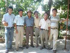 Từ trái sang: Lãm Thắng, Trương Lin, Bình SVC, Lê Anh, Ngô Phan Lưu, Đức Tuấn