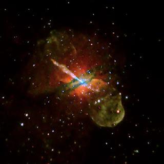 Centaurus A por Chandra