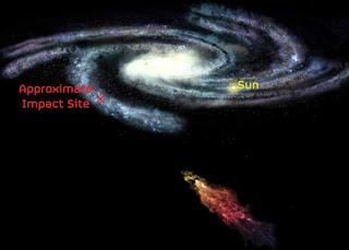 Brazo Perseo de la Vía Láctea