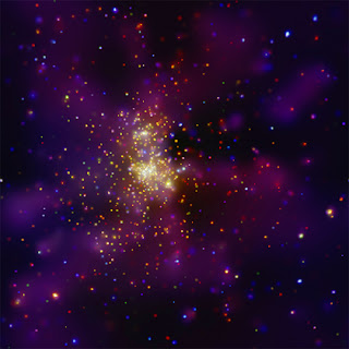 Westerlund2 por Chandra