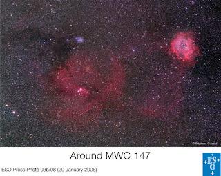 ESO:Alrededor de MWC 147