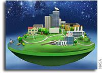 NASA Home and City