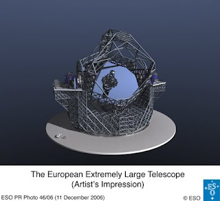 Ilustración del E-ELT