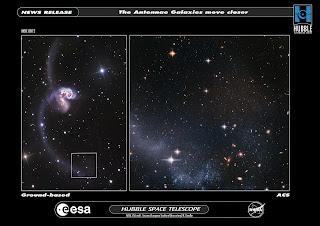 Las Galaxias Antennae