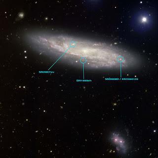 SN2008D por GMOS de Gemini Norte