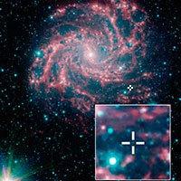 Imagen infrarroja de NGC 6946