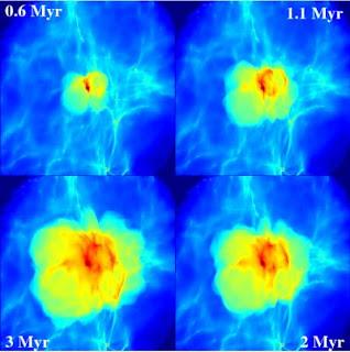 Imagen de la simulación de Dr. Yoshida et al.