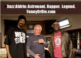 Buzz Aldrin y Snoop Doug