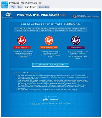 Progress thru Processors