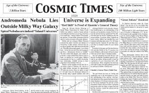 Cosmic Times 1929