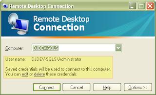 Remote Desktop with Windows XP Service Pack 3