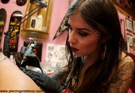 kat von d face tattoos design