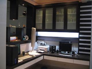 LH Interiors Design JB: Study Room 书房