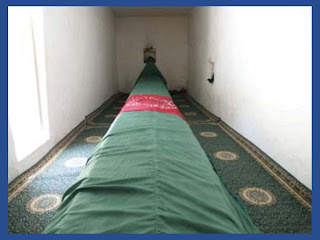 The grave of Prophet Hazrat Saleh A.S