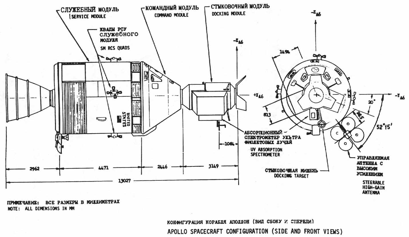 Apollo 11 Lunar Module Diagram Wiring For Blower Motor Resistor News Spazio Soyuz 35 Anni Fa Il Primo Seme Della