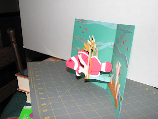pop up cards fish side view