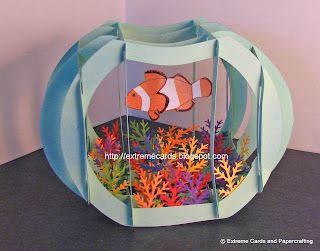 sliceform fish bowl
