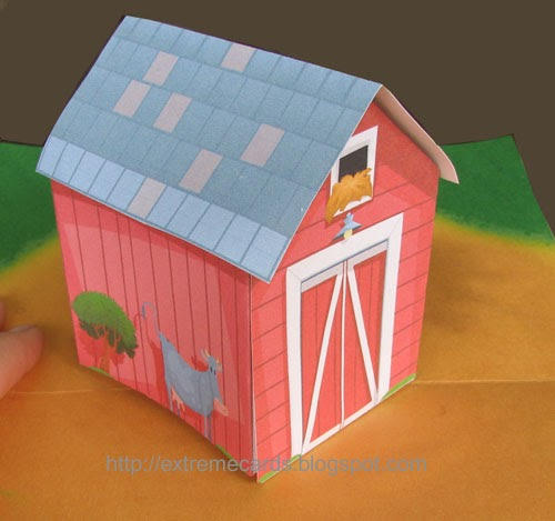 Extreme Cards And Papercrafting Pop Up Barn