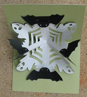 halloween kirigami