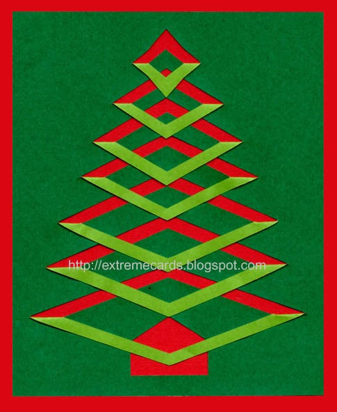 Extreme Christmas Trees: Extreme Cards And Papercrafting: Incire Christmas Tree
