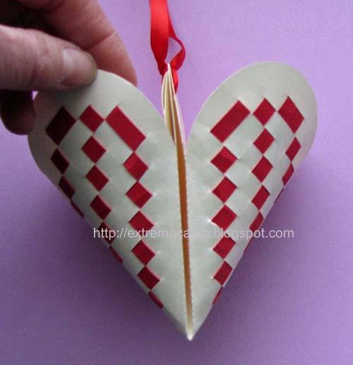 Froebel Weaving Valentine Candy Basket