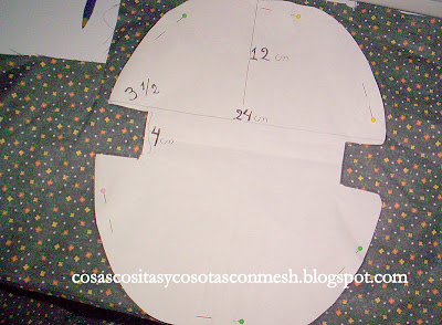 Como hacer un neceser cositasconmesh - Como hacer un cabecero de tela ...