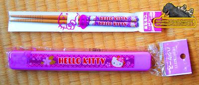 palillos de hello kitty