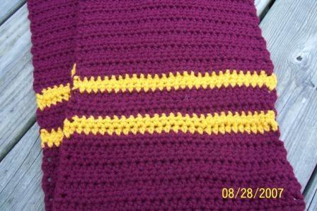 Crafty Andy Harry Potter Poa Crochet Scarf Free Pattern