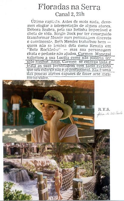 Folha de São Paulo. Foto abaixo: Bahamas, passagem do milenio.