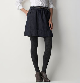 Denim Skirt from Ann Taylor