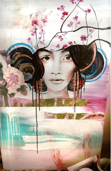 Flower Fields Of Fashion Anahata Joy Katkin