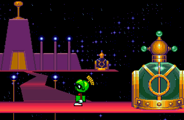 Taz in Escape from Mars (Genesis/Mega Drive)