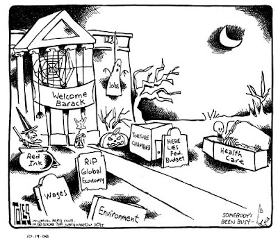 Economic Crisis Cartoon: 27 Election 2008 Economic Crisis